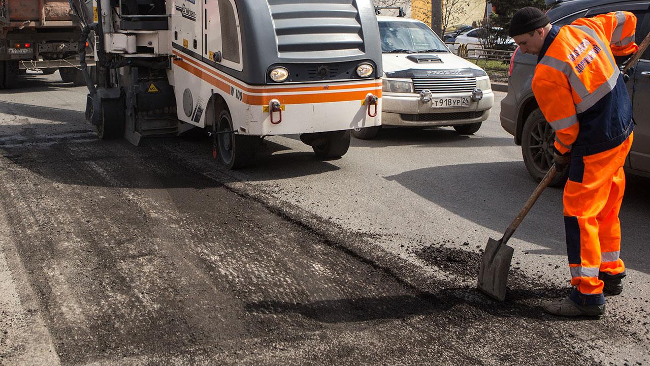 Ремонт улиц Победы